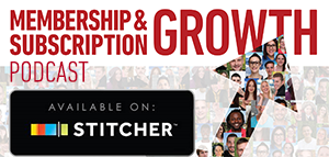 Stitcher: Yours FREE. Three Decades and Several Billions of Dollars of Subscription Revenue Growth Secrets