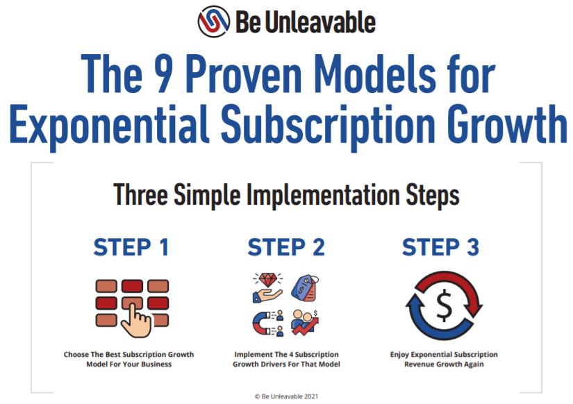 9 Subscription Models