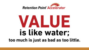 Value retains members