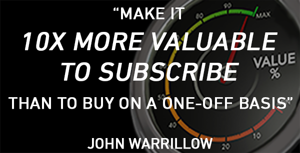 Increase Your Recurring Revenue by Delivering 10X Value