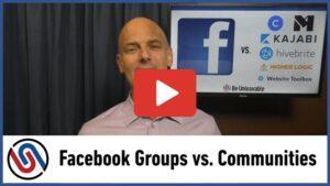 Facebook or Slack